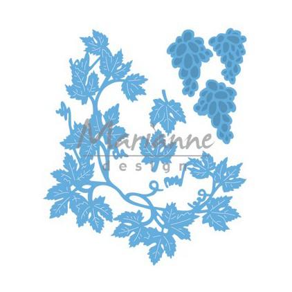 Wykrojnik do wycinania - Marianne Design Creatables LR0480 - Ozdobna ramka