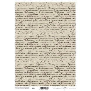 Papier pergaminowy drukowany, kalka