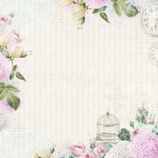 Wzory romantyczne, kwiatowe